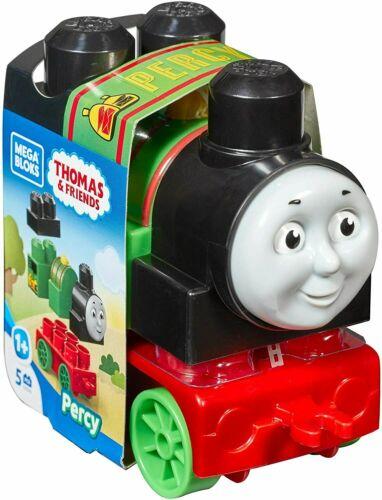 Mega Bloks First Builders Thomas /& Friends Train Engines ~ PERCY ~ 5pcs NEW