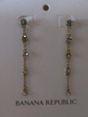 Banana Republic Statement Flower Chandelier Earrings  NWT 49.50