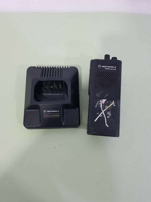 Motorola Radius GP300 P94YPC00C1AA with charger HTN9803B. Available Now for 29.00