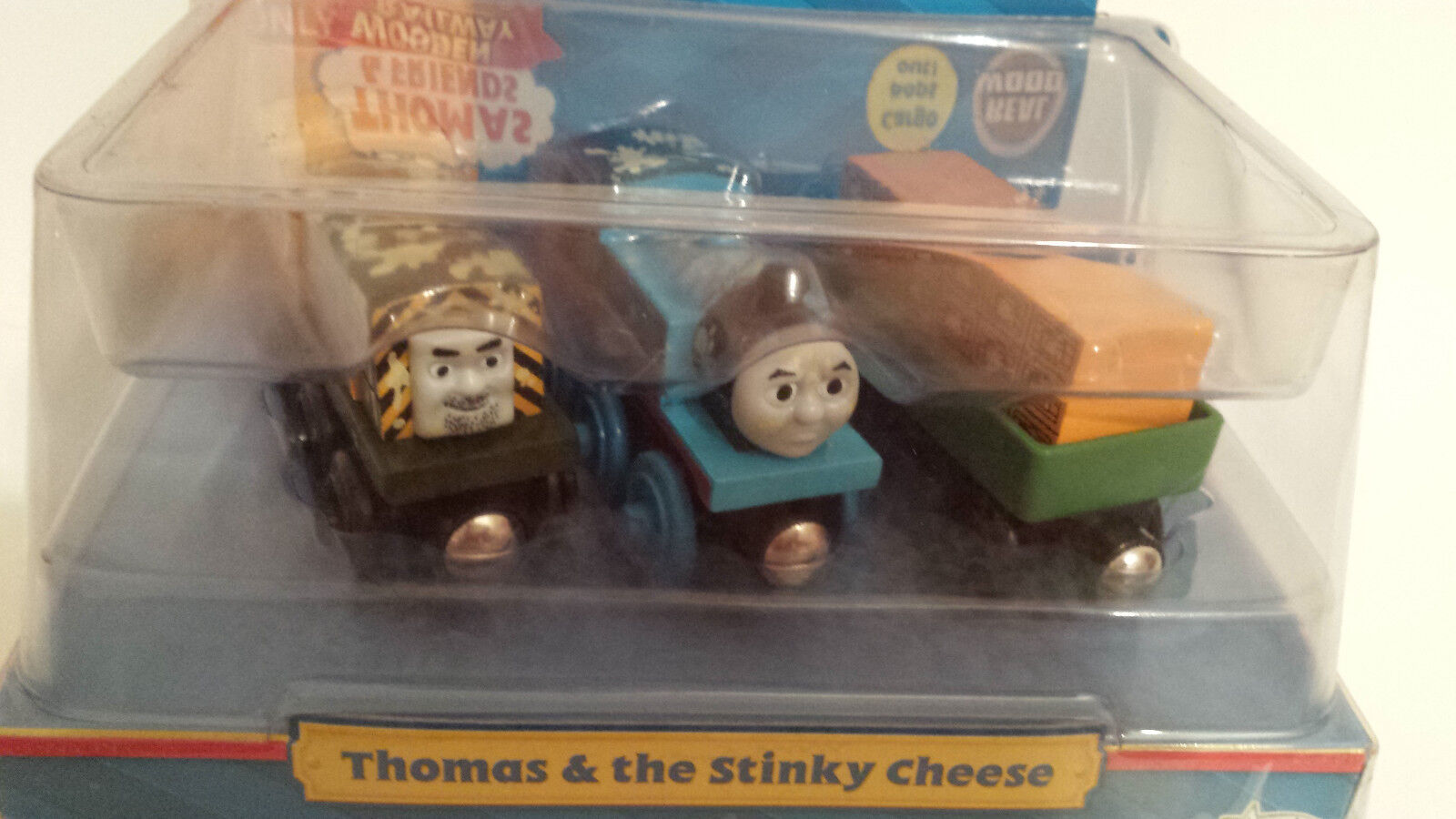 Thomas & Friends Wooden Railway Thomas & the Stinky Cheese Boys & Girls 2010 2+