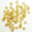 100-PCS-6-8-10-MM-Gold-Silver-Snowflake-Daisy-Spacer-Bead-DIY-Jewelry-Making miniature 2