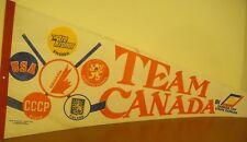 Team Canada Hockey VINTAGE Full Size Pennant Canada Cup 1981 Gretzky