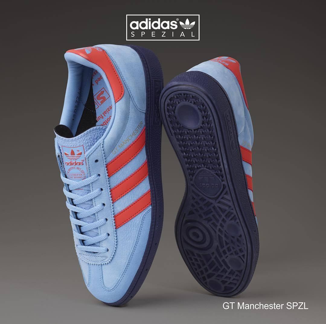 Adidas GT Manchester neta Azul S80567 (Todas las Tallas) spzl cityseries og limitada