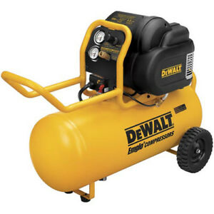 DEWALT 1.6 HP 15 Gallon Oil-Free Wheeled Air Compressor D55167R Recon