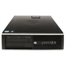 HP PC Elite 8200 SFF  Core i5-2400 3.1 GHz 4GB RAM 250GB HDD Win 7 Pro 64Bi