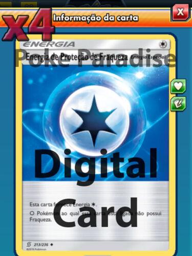 Weakness Guard Energy 213//236 Playset Pokemon TCG Online ! PTCGO Digital Card !
