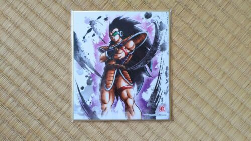 Dragon Ball Z Raditz Raditsu Card Shikishi Art DBZ Cartes Dragonball