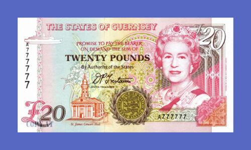 GUERNSEY 20 Pounds 1996s Reproductions See description!!!