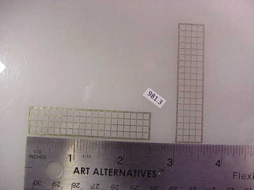 GP etc Overland O Diesel Stainless Etched Screen Material 2 #981-3