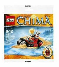 NEW LEGO LEGENDS OF CHIMA WORRIZ FIRE BIKE BIRTHDAY GIFT FAVOR POLY BAG 30265