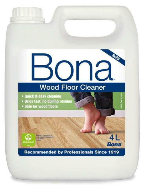 Bona Wm740119012 4l Wood Floor Cleaner