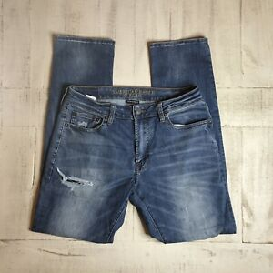 American-Eagle-Outfitters-Extreme-Flex-4-Slim-Straight-Men-Jeans-33x34