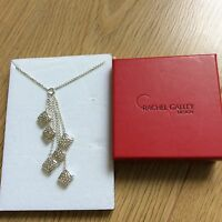 Rachel Galley sterling silver necklace pillow