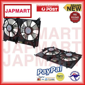 For-Toyota-Tarago-Acr30-06-2000-12-2005-Dual-Radiator-Fan-F30-rnf-atyt