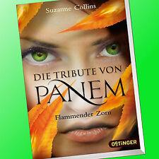 SUZANNE COLLINS | DIE TRIBUTE VON PANEM (Band 3) | FLAMMENDER ZORN (Buch)
