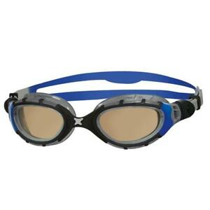 Zoggs-Adult-Predator-Flex-In-Regular-Fit-For-Swimming-Goggles-In-Blue-Black