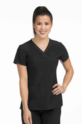 Activate by Med Couture Women/'s 8532 Mesh Fluid Scrub Top NEW-FREE SHIP