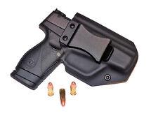 "Black Kydex RH black leather Taurus PT 709 Slim IWB Hybrid Holster 1.5"" Belt"