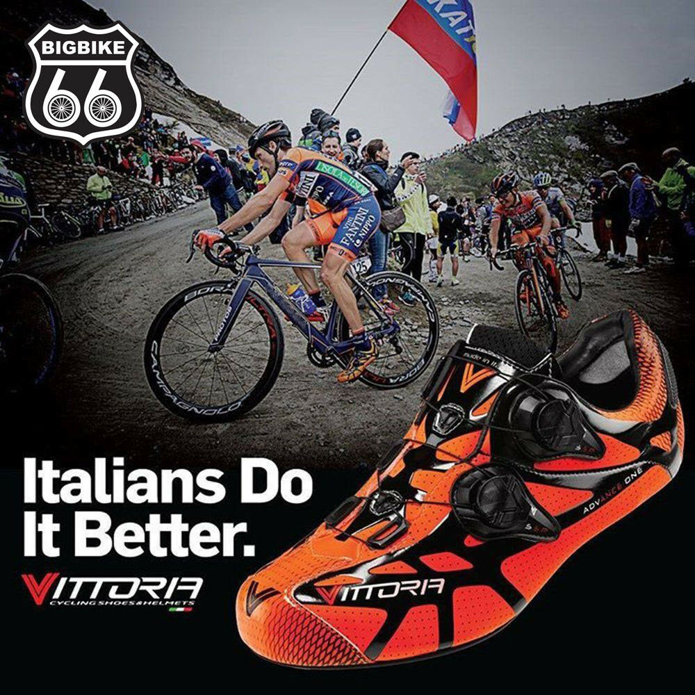Vittoria Ikon Cycling shoes (orange) - size   38  up to 60% discount