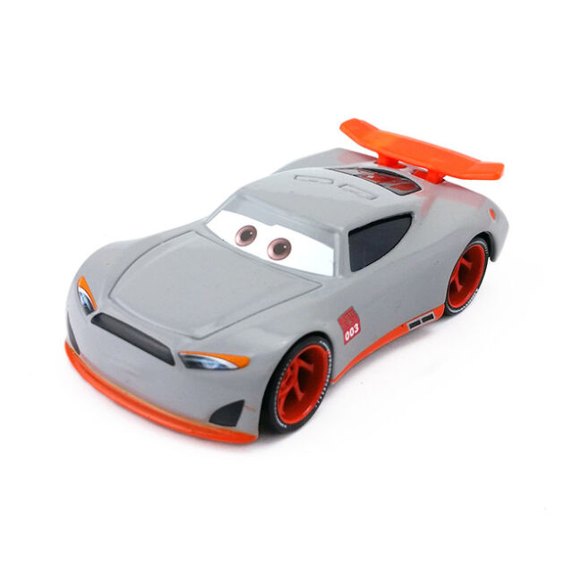 Mattel Disney Pixar Cars 3 No.003 Aiden Racer Diecast Toy