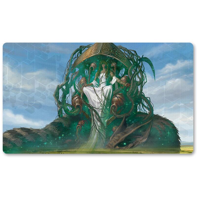 Karametra God of Harvests - Board Game MTG Playmat Mous