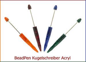 TOP-Angebot-BeadPen-KUGELSCHREIBER-Acryl-marmoriert-noch-3-Farben-lieferbar