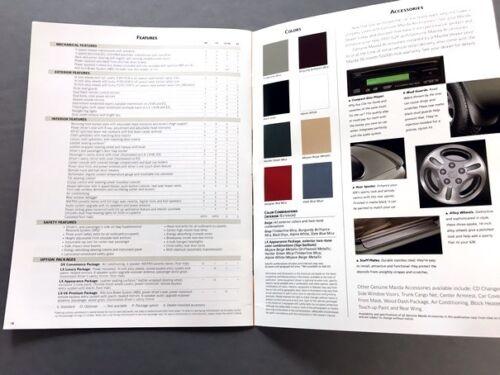 1997 Mazda 626 20-page Original Car Sales Brochure Catalog