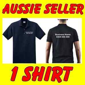 Details about Custom Polo shirts Advertising for business Uniform clubs &  Promotion