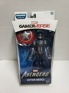 New Marvel Legends Avengers Video Game Wave Captain America GameVerse IN HAND!