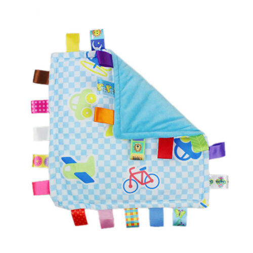Infant Baby Soft Sleep Soothing Towel Security Blanket Hand Towel Toy For Kids