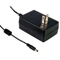 Mean Well Gs18u09-p1j Ac To Dc Power Supply Wall Adapter Transformer 9 Volt 2 Am