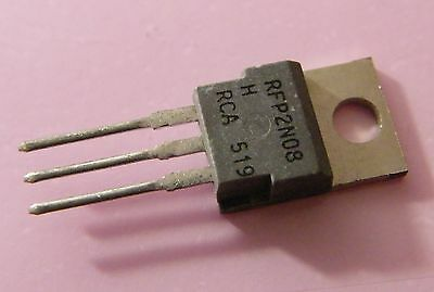 RCA 5x rfp2n08 N-Channel Power MOSFET 80 V 2 A 25 w