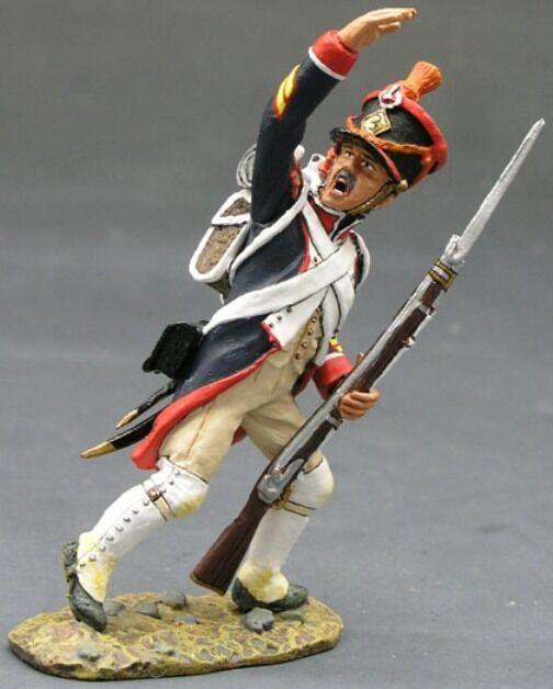 King & Country die Age Of Napoleon NA100 Französisch Line Infanterie Sergeant