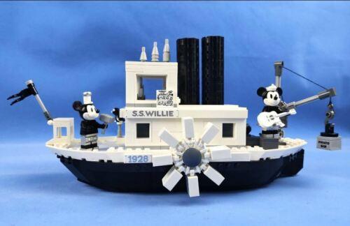 21317 Steamboat Willie New Ideas Movie Mickey compatible Building Blocks Bricks