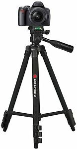 """50"""" AGFAPHOTO Pro Tripod With Case For Canon EOS Rebel XS XSi 450D"""