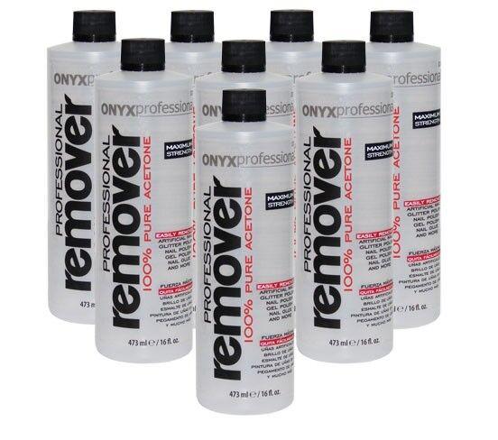 (New) Onyx Professional 100% Pure Acetone Nail Polish Remover - 1 Gallon