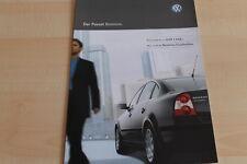 104459) VW Passat Business - Österreich - Prospekt 01/2003