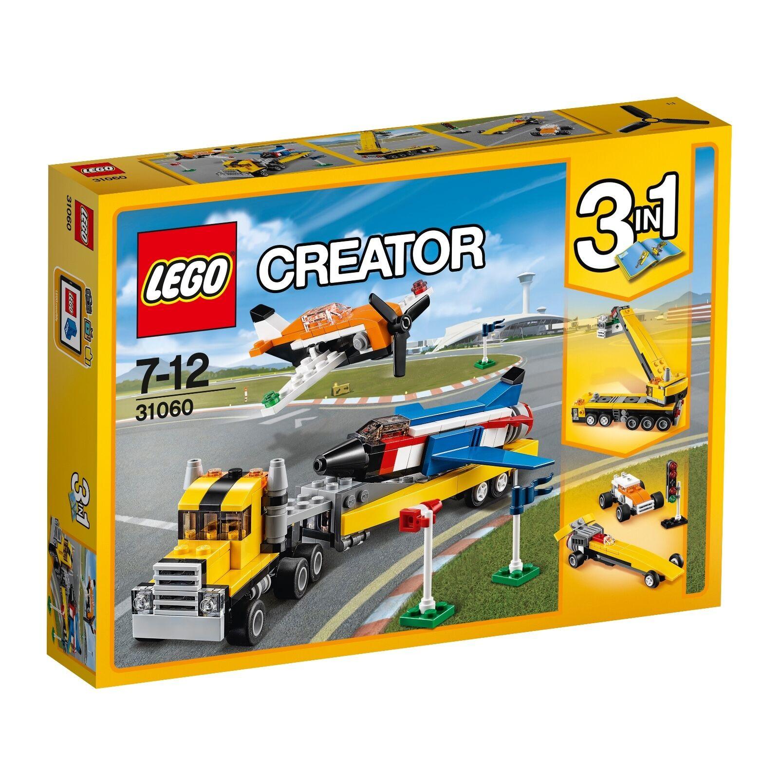 LEGO® Creator 31060 Flugschau-Attraktionen NEU OVP_ Airshow Aces NEW MISB NRFB
