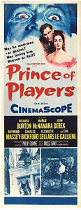 PRINCE-OF-PLAYERS-1955-Richard-Burton-Maggie-McNamara-US-INSERT-POSTER