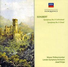 London Symphony Orch - Schubert: Sym Nos 8 & 9 [New CD]