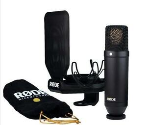 Rode-NT1-Kit-Cardioid-Condenser-Recording-Microphone-with-SMR-Shock-Mount-NT1KIT