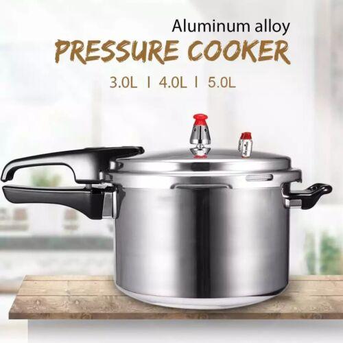 5.3qt Stream Pressure Fast Cooker Heavy Gauge Aluminum Alloy Gas Stove COOKWARE