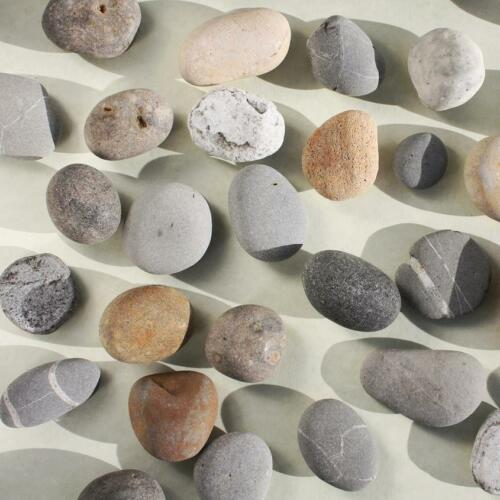 Set of 4Nautical Coastal Decor Pebble Fridge Magnets