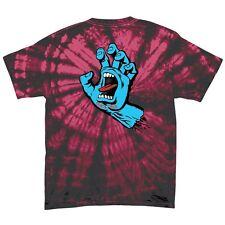 Santa Cruz SCREAMING HAND Skateboard T Shirt SPIDER CRIMSON XL