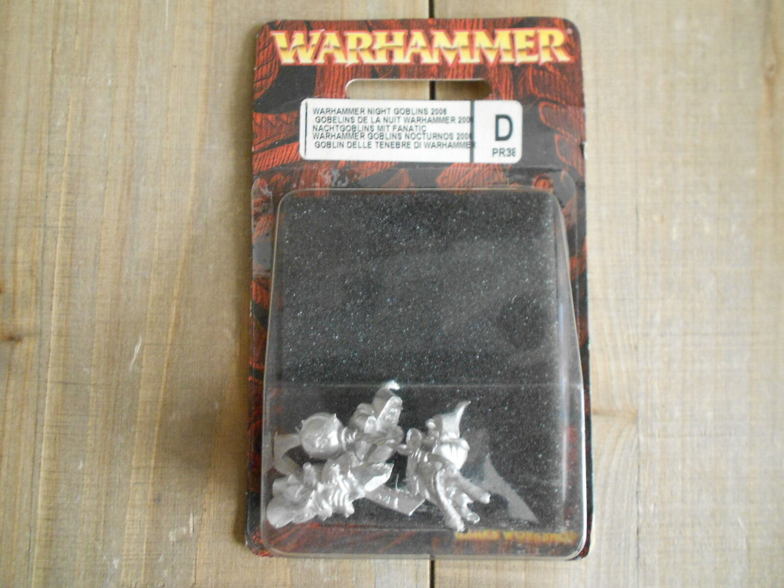 Warhammer - NIGHT GOBLINS 2006 PR38 - Limited Edition - Games Workshop