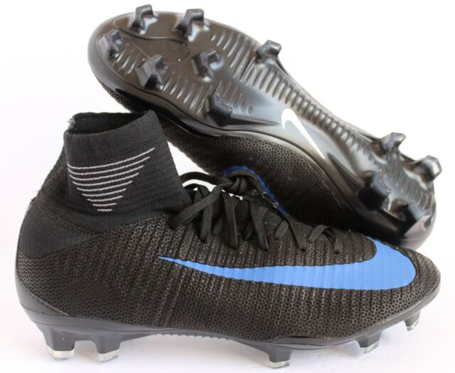 c2cf5d1bb Nike Women Mercurial Superfly V FG ID Black-blue Sz 8.5 872796-999 ...