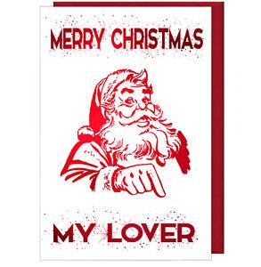 Auguri Di Natale Fidanzato.Carina Frizzante Effetto Biglietto Auguri Di Natale For My Amante