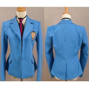Ouran High School Host Club Haruhi Fujioka Jacket Blazer Uniform Cosplay Costume