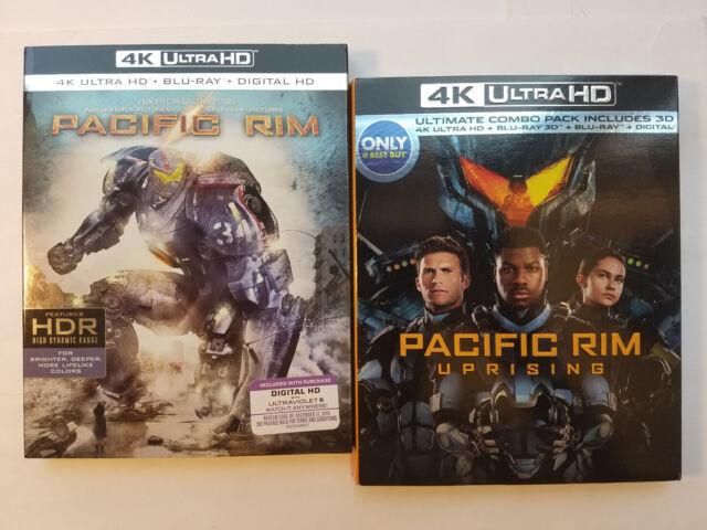 Pacific Rim Uprising Ultimate Combo Best Buy 4k Ultra Hd 3d Blu Ray