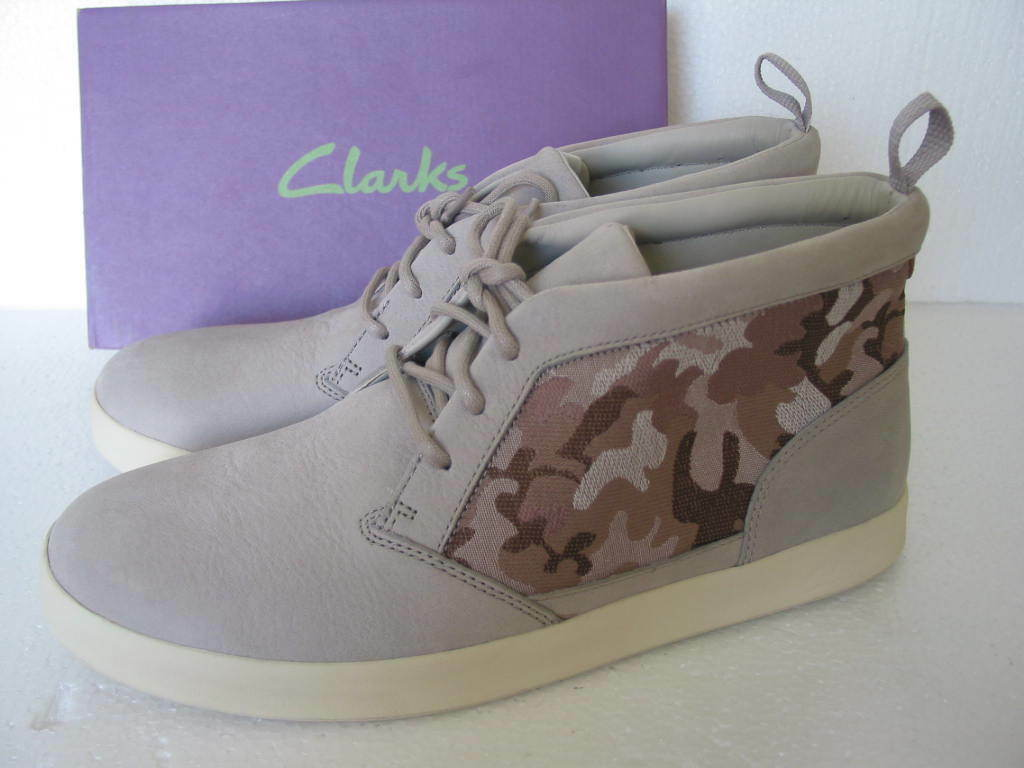 NEW CLARKS ORTHOLITE TANNER SKY LEATHER DESERT STYLE botas Talla 8